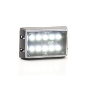 Lumière de scène de 10 Del pour véhicule avec option de montage à 45 degré