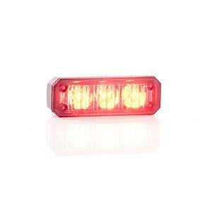 """Module ProSignal 3 DEL rouge """"mini stealth"""" avec montage capot et """"bezel"""" noir"""